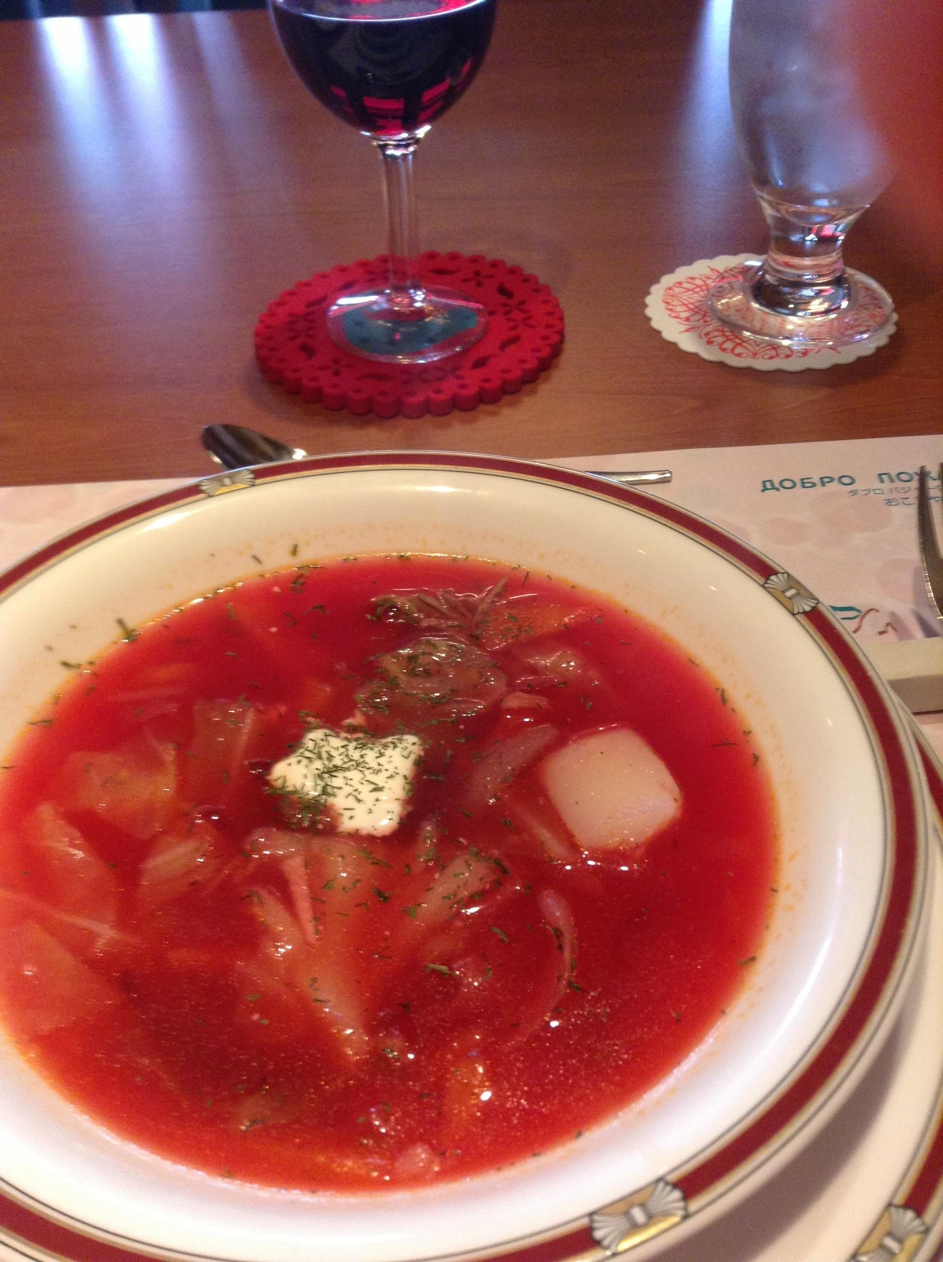 水戸でロシア料理を食べられる「キエフ」の場所や …
